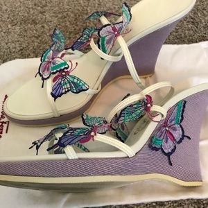 Salvatore Ferragamo Butterfly Wedges